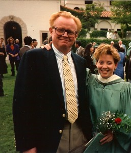 Bill Wilkinson & Shannon Wilkinson at Shannon's College Graduation