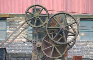 Cogs from a Welsh Mining Crane
