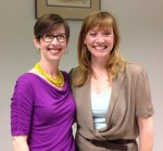 Janine Adams & Shannon Wilkinson at the Create Freedom and Ease with Habits and Routines Workshop in St. Louis