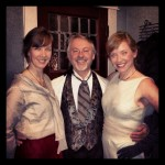 Shannon Wilkinson & Friends dressed for Downton Abbey Premiere