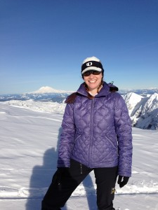 Shannon Wilkinson, Summit of Mt. St. Helens New Years Day 2013