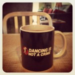 Shannon Wilkinson's new Footloose mug: Dancing is not a crime