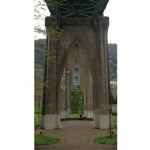 Cathedral Park, St. Johns Bridge, Portland, Oregon by Shannon Wilkinson