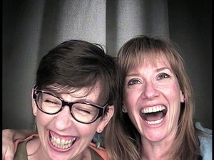 Shannon Wilkinson and Janine Adams Cracking Up